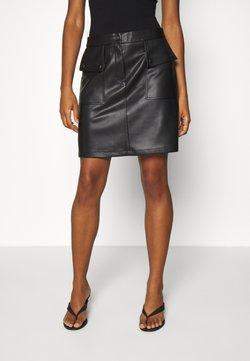 Vero Moda - VMPAULINA  - Mini skirt - black