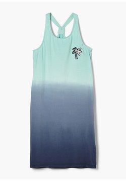 s.Oliver - Jerseykleid - dark blue gradient