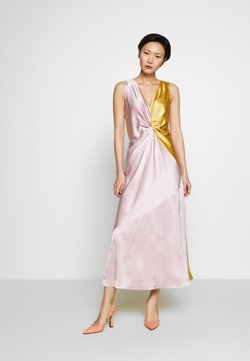 Pinko - MINESTRA ABITO  - Vestido de cóctel - rosa/giallo