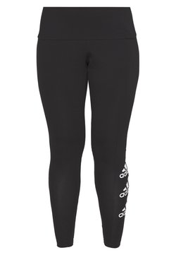 adidas Performance - Legginsy - black