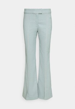 Weekday - KINNI PLEAT TROUSER - Stoffhose - blue