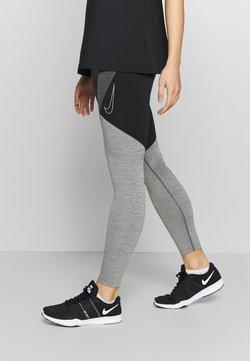 Nike Performance - NOVELTY - Tights - black/iron grey/white