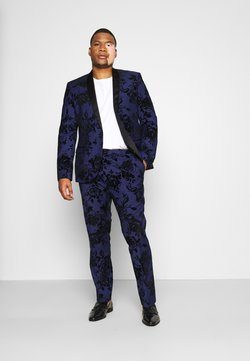 Twisted Tailor - MALKOVICH SUIT PLUS SET - Anzug - blue