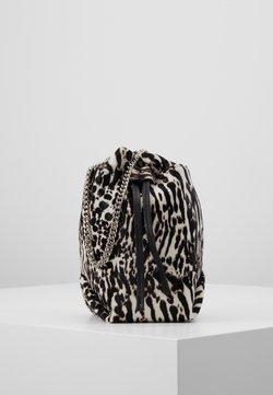Iro - Torba na ramię - black zebre/washed grey