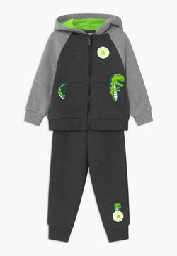 Converse - COLORBLOCK DINO SET - Survêtement - black heather