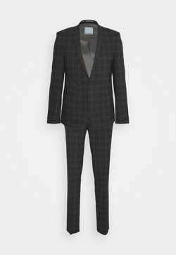 Viggo - GIRI SUIT SLIM FIT - Garnitur - charcoal