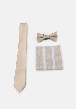 Jack & Jones - JACTAN NECKTIE GIFTBOX SET - Krawatte - crockery