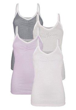 Harmony - 4 PACk - Unterhemd/-shirt - flieder,marineblau