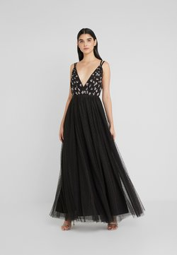 Needle & Thread - NEVE EMBELLISHED BODICE MAXI DRESS - Abito da sera - ballet black