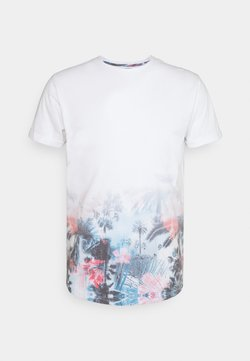 INDICODE JEANS - AVILES - T-Shirt print - offwhite