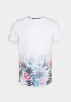 INDICODE JEANS - AVILES - T-Shirt print - offwhite