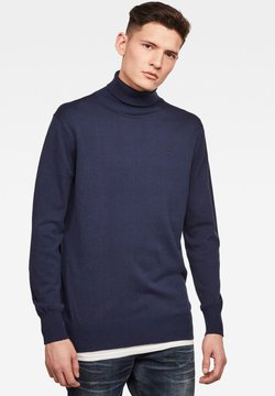 G-Star - PREMIUM BASIC TURTLE - Pullover - imperial blue