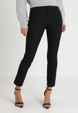 GAP - ANKLE BISTRETCH - Stoffhose - true black
