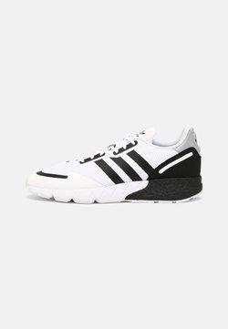 adidas Originals - ZX 1K BOOST UNISEX - Sneaker low - white/black/silver