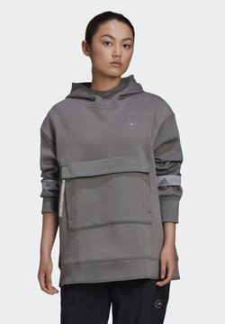 adidas by Stella McCartney - ADIDAS BY STELLA MCCARTNEY PULL-ON HOODIE - Huppari - beige