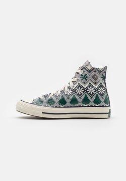 Converse - CHUCK TAYLOR ALL STAR 70 UNISEX - Sneakersy wysokie - ash stone/egret/obsidian