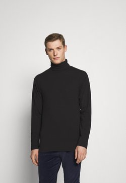 Solid - TED ROLLNECK - Pitkähihainen paita - black