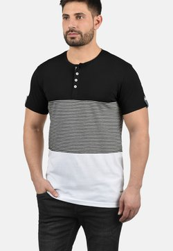 Solid - MAREK - T-Shirt print - black