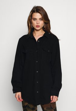 Missguided - BOYFRIEND FIT - Camicia - black