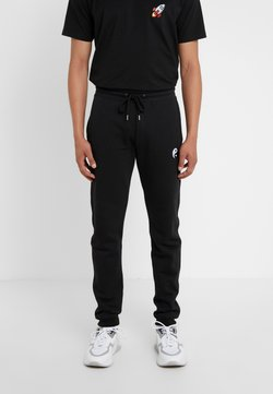 Bricktown - PANTS MAN SMALL YIN YANG - Jogginghose - black