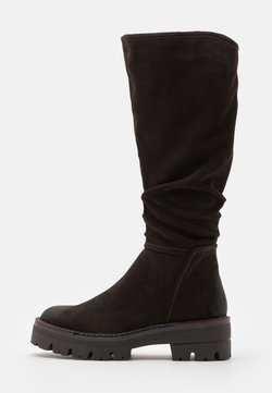 Marco Tozzi - BOOTS  - Plateaustiefel - mocca