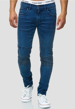 INDICODE JEANS - Slim fit jeans - dark blue