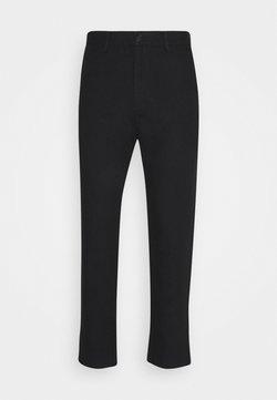 Weekday - ARBUS TROUSERS - Pantalones chinos - black