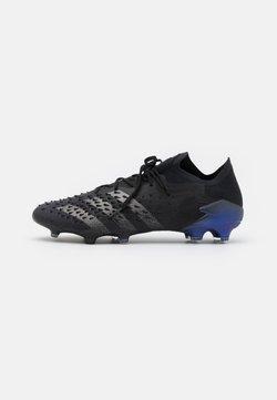 adidas Performance - PREDATOR FREAK .1 FG - Botas de fútbol con tacos - core black/iron metallic/sonic ink