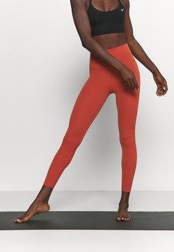 Nike Performance - THE YOGA LUXE 7/8 - Tights - rugged orange/light sienna