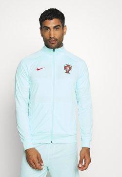 Nike Performance - PORTUGAL FPF - Nationalmannschaft - teal tint/sport red