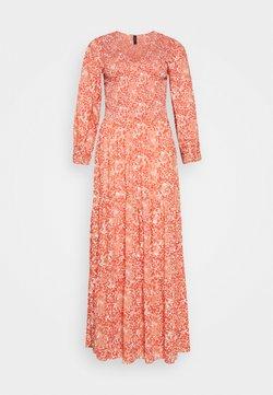YAS Tall - YASDAMASK LONG DRESS - Maxi dress - whisper pink