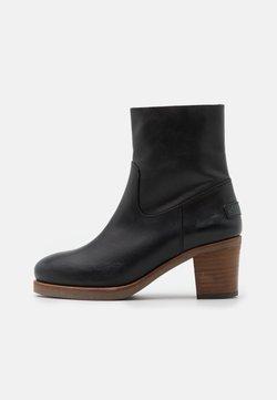 Shabbies Amsterdam - Korte laarzen - black