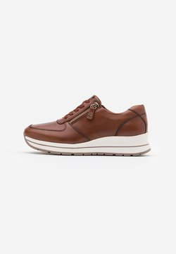 Tamaris Pure Relax - LACE UP - Sneakers laag - chestnut