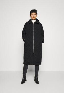 Lindex - COAT ANDIE QUILT - Mantel - black