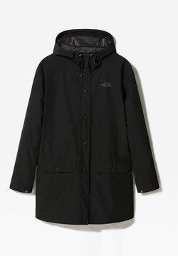 The North Face - W WOODMONT RAIN JACKET - Regnjacka - tnf black
