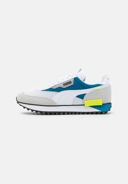 Puma - FUTURE RIDER GALAXY UNISEX - Sneaker low - white/digital blue