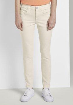 TOM TAILOR - TOM TAILOR ALEXA SLIM - Slim fit jeans - soft vanilla