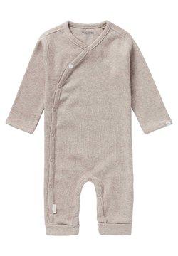 Noppies - NEVIS - Pijama de bebé - taupe melange