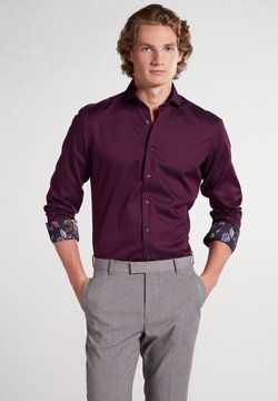 Eterna - SLIM FIT - Businesshemd - aubergine