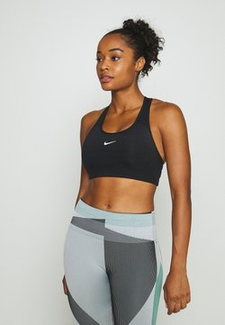 Nike Performance - BRA PAD - Sport BH - black/white
