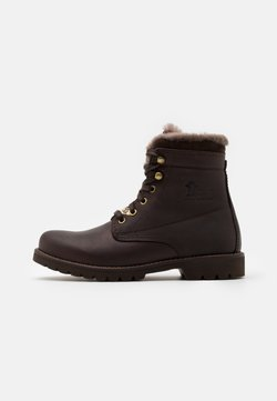 Panama Jack - AVIATOR IGLOO - Bottines à lacets -  grass marron/brown