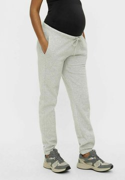 MAMALICIOUS - PCMCHILLI - Jogginghose - light grey melange