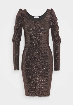 Glamorous Petite - LADIES DRESS  - Cocktailkleid/festliches Kleid - bronze