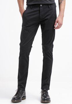 Selected Homme - SHHONE LUCA - Chinos - black