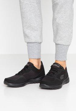 Skechers Sport - FLEX APPEAL 3.0 - Sneakers laag - black