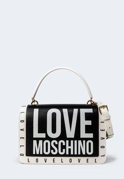 Love Moschino - STAMPA LOGO CENTRALE GRANDE - Borsa a mano - black