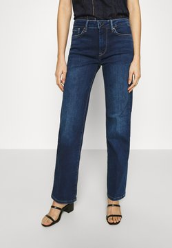 Pepe Jeans - AUBREY - Flared Jeans - dark-blue denim