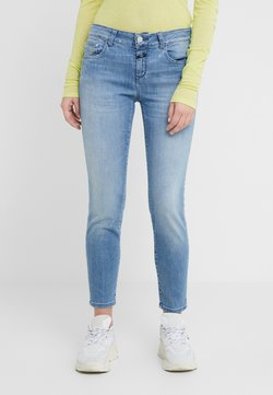 CLOSED - BAKER MID WAIST CROPPED LENGTH - Jeans slim fit - mid blue