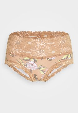 aerie - GARDEN PARTY CHEEKY PRINTED - Slip - raw sienna