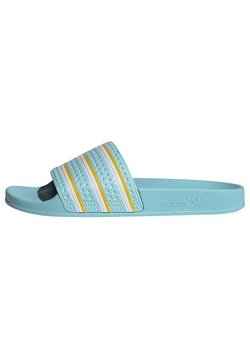 adidas Originals - ADILETTE SLIDES - Tøfler - blue